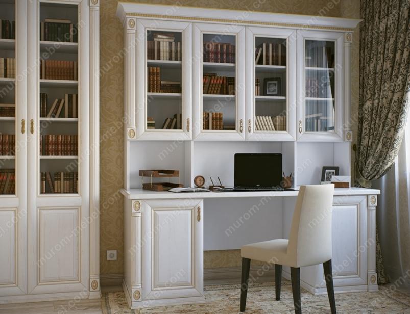 Письменный стол с надстройкой из серии
