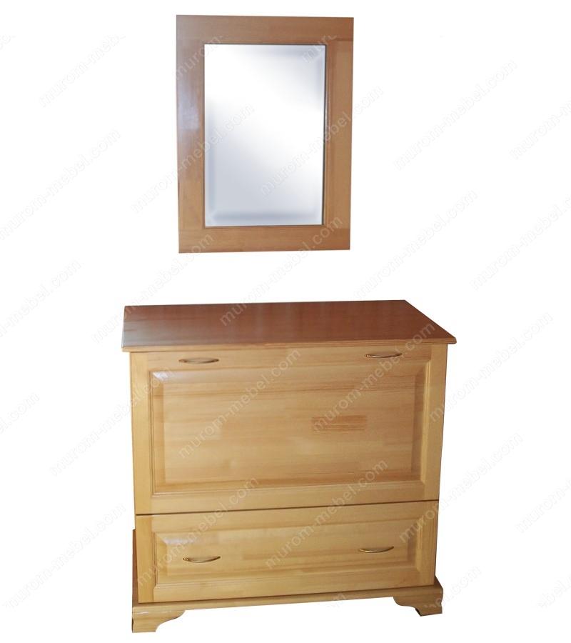 Бельевица с зеркалом