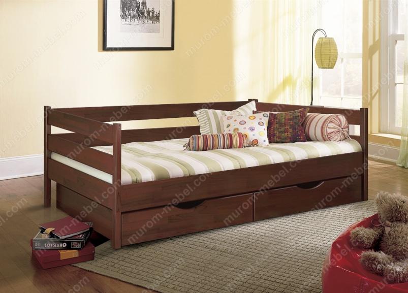 Кровать Детская с ящиками 1