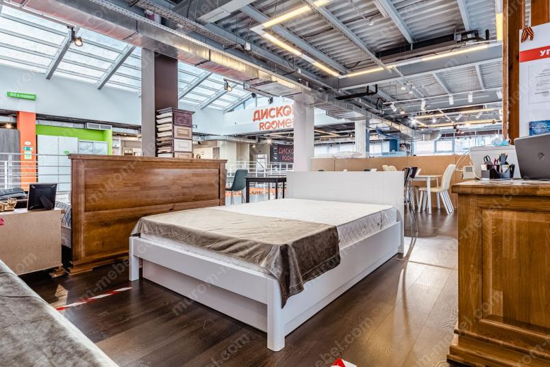 Кровать Готика Nice (белая эмаль)