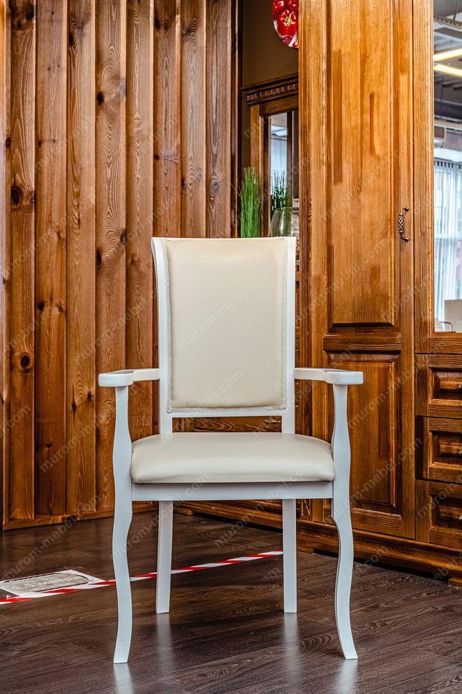 Кресло Легранж (белая эмаль, береза)