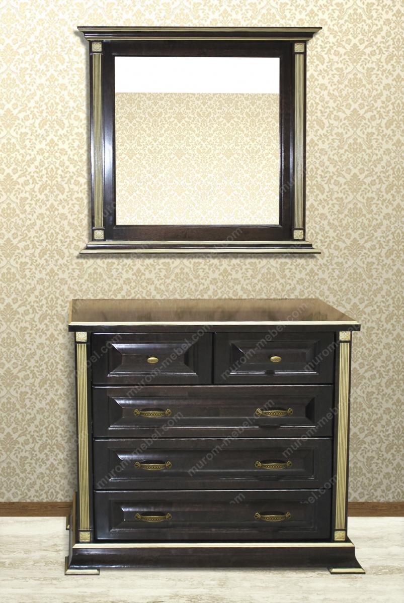 Комод и зеркало из серии