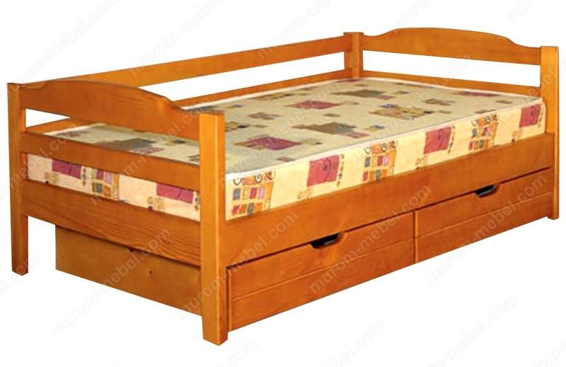 Кровать Детская с ящиками 2