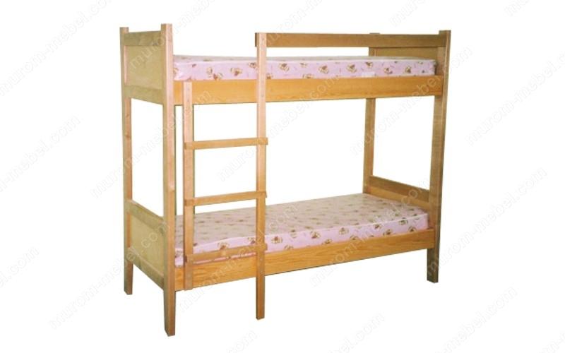 Кровать двухъярусная Классика 3