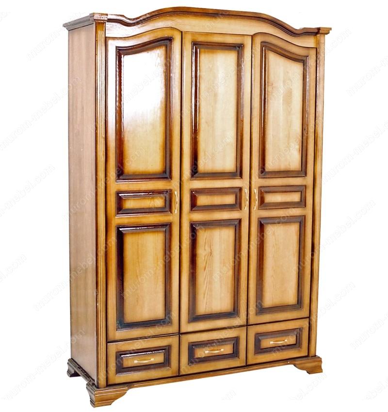 Шкаф Визит 3-х ств. с нижними ящиками