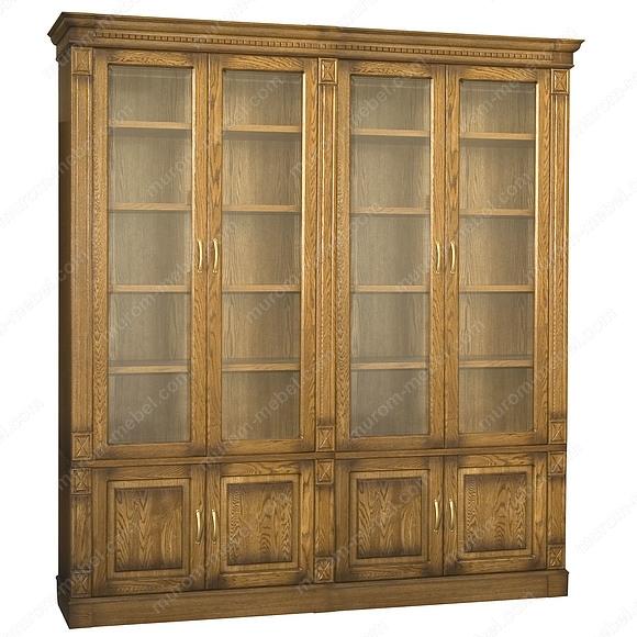 Библиотека 4-х дверная Флоренция