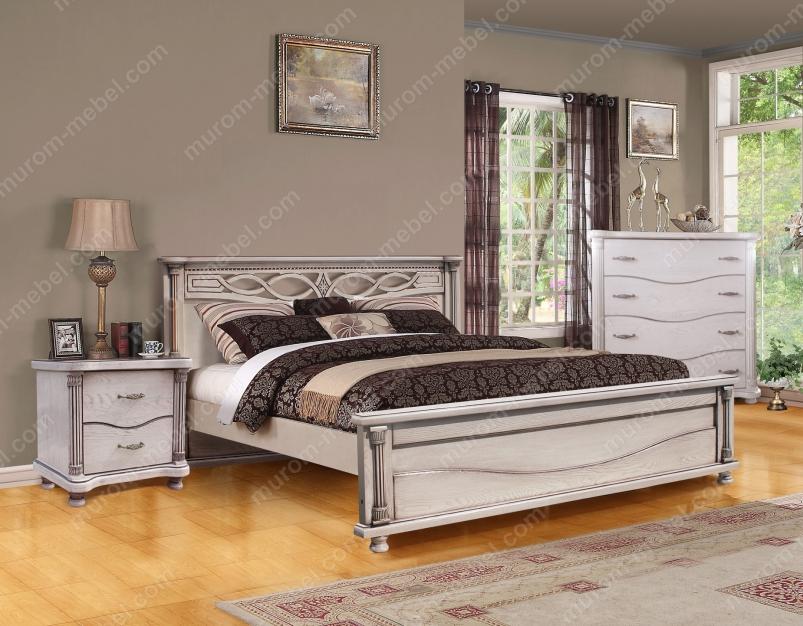 Спальный гарнитур Мелиса из дуба