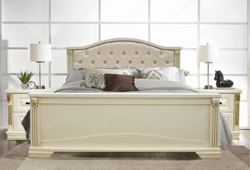 Кровать Кливия с мягкой спинкой